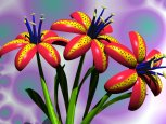 Digital Art - Flora - Tiger Lily