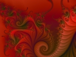 Digital Art - Fractals - Red