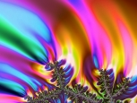 Digital Art - Fractals - Rainbow