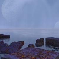 Digital Art - Landscapes - Misty Morning