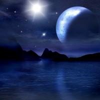 Digital Art - Landscapes - Dark Night