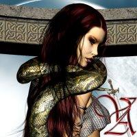 Digital Art - Fantasy - The Snake Queen