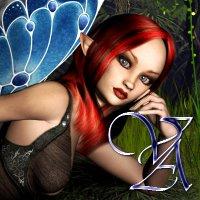 Digital Art - Fantasy - Forest Nymph