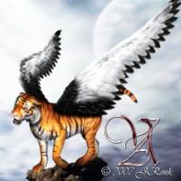 Digital Art - Fantasy - Tiger in the Dream