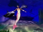 Digital Art - Fantasy - Mermaid Playground