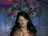 Digital Art - Fantasy - Plume Portrait