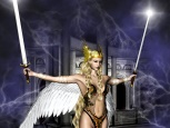 Digital Art - Fantasy - The Valkyrie